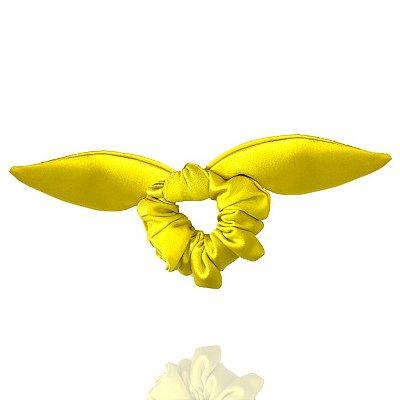 Elástico com Mini Laço de Cetim Verde Limão