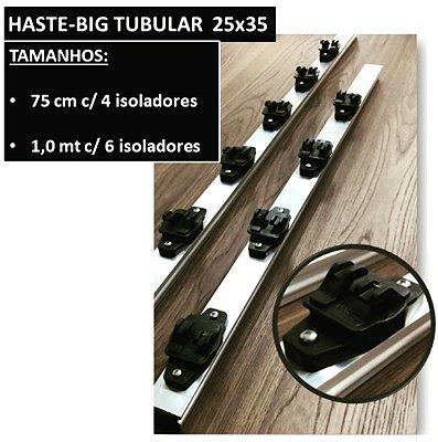 Haste tubolar 6 isoladores 25x35