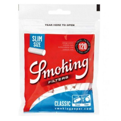 Filtro Smoking Slim Classic
