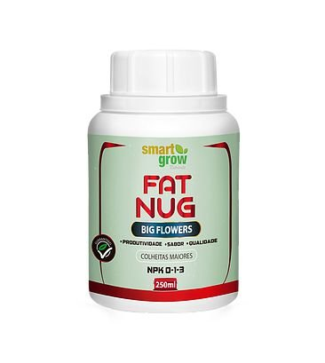 Smart Grow Fat Nug Fertilizante Premium 250ml