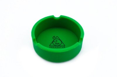 Cinzeiro Pequeno de Silicone - Squadafum