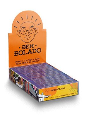 Bem Bolado |  Caixa de Seda 1 1/4  Pop - 25un