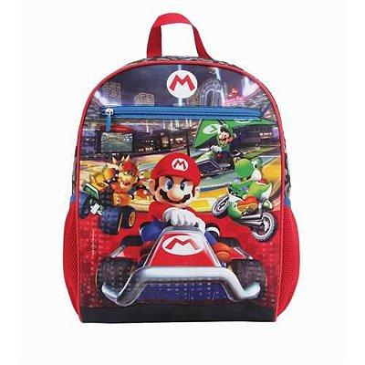 Mochila Super Mario Kart Com Estojo
