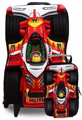 Mochila Com Lancheira F1 Power