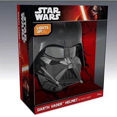 Luminária Star Wars Darth Vader 3d
