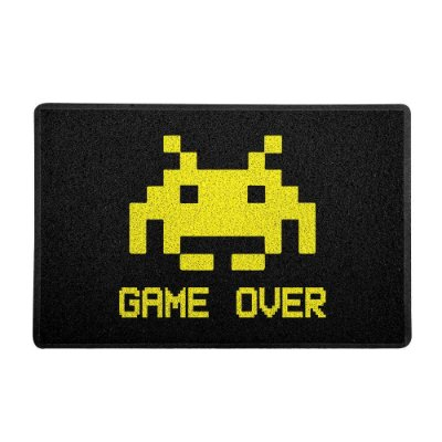 Tapete Capacho Game Over 60x40cm - Geek