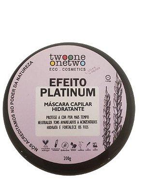 442 Mascara Capilar Hidratante Efeito Platinum - TWOONE