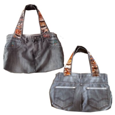 Bolsa Jeans Snacke