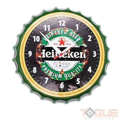 Relógio de parede Heineken