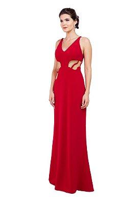 Vestido Longo Vermelho Manhatan