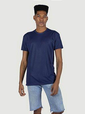 KIT 05 PEÇAS - Camiseta Malha PP azul marinho