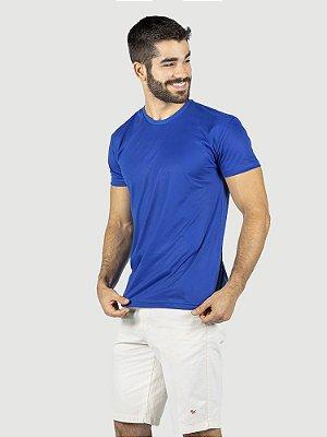 KIT 05 PEÇAS - Camiseta Malha PP azul royal