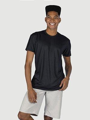 KIT 05 PEÇAS - Camiseta Malha PP preto