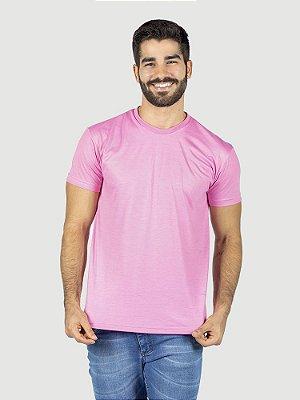 KIT 05 PEÇAS - Camiseta Malha PP rosa