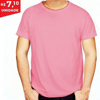 KIT 05 PEÇAS - Camiseta helanquinha rosa bebê