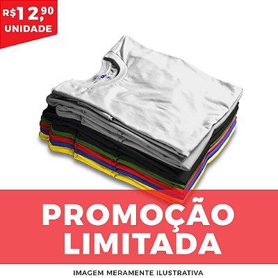 KIT MULTI 10 PEÇAS  -  Básica algodão cores sortidas