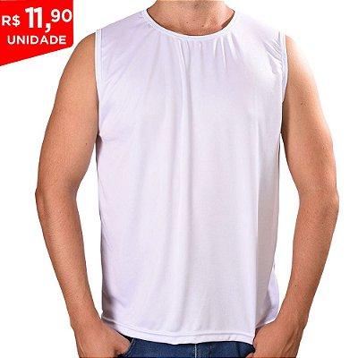 KIT 05 PEÇAS - Machão Dry Fit Branco