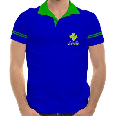 POLO MASCULINA FARMÁCIAS MULTMAIS