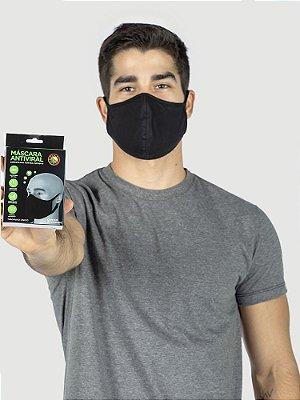 KIT 05 Máscaras Antivirais - Reutilizáveis