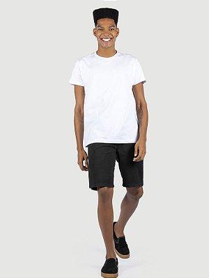Camiseta malha Premium 100% algodão penteado branco