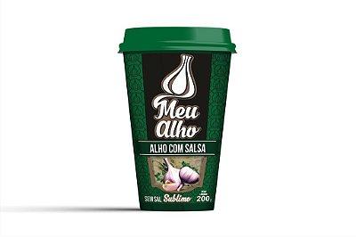 Alho com Salsa - Sublime - s/sal - 200g - Meu Alho