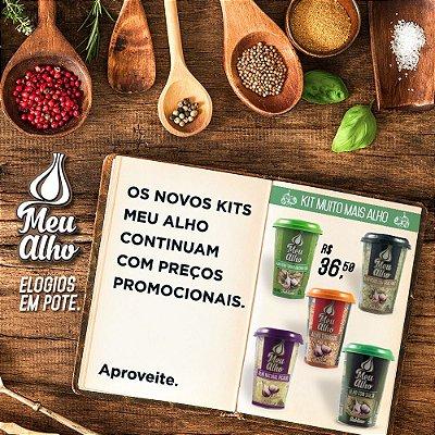 Kit Muito Mais Alho - Meu Alho - 05 itens