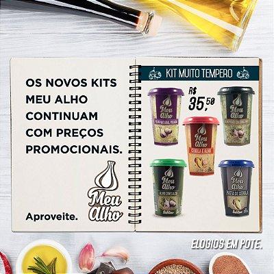 Kit Muito Tempero - Meu Alho - 05 itens