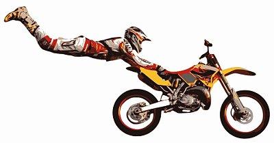 Quadro Decorativo Poster Moto Motoqueiro