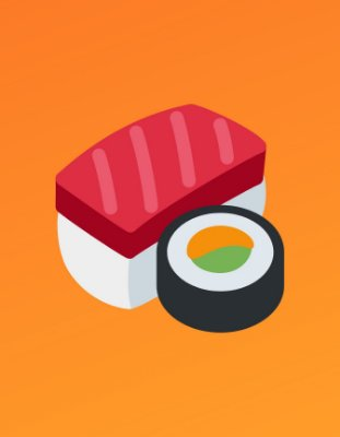 Quadro Decorativo Poster Maguro e Sushi