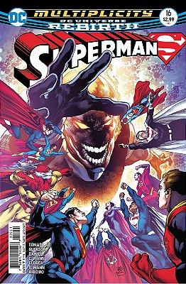 Quadro Decorativo Poster Superman em Canvas