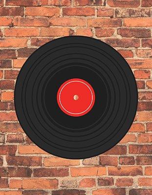 Quadro Decorativo Poster Disco de Vinil
