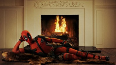 Quadro Decorativo Poster Deadpool
