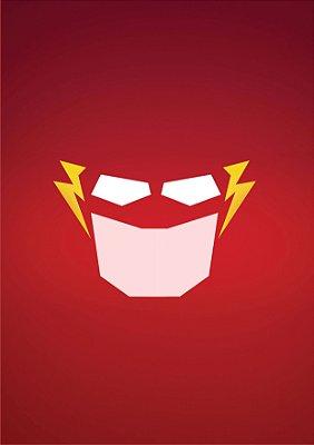 Quadro Decorativo Poster Flash Face
