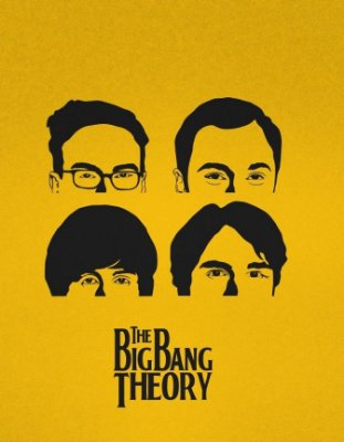 Quadro Decorativo Poster The Big Bang Theory