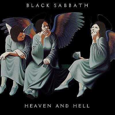 Quadro Decorativo Poster Black Sabbath Heaven Hell