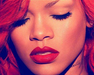 Quadro Decorativo Poster Rihanna Capa CD