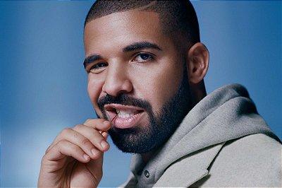 Quadro Decorativo Poster Drake