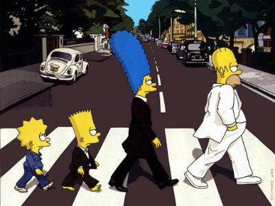 Quadro Decorativo Poster Simpsons