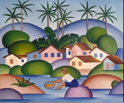 Quadro Decorativo Poster Tarsila do Amaral