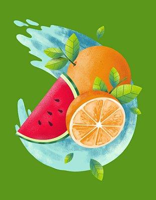 Quadro Decorativo Poster Frutas