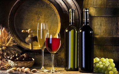 Quadro Decorativo Poster Vinhos