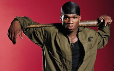 Quadro Decorativo Poster 50 Cent Taco