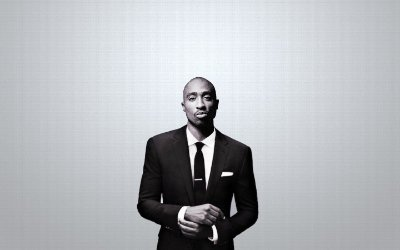 Quadro Decorativo Poster Tupac Shakur
