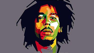 Quadro Decorativo Poster Marley Cores