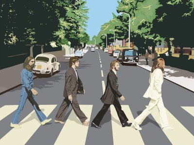 Quadro Decorativo Poster The Beatles