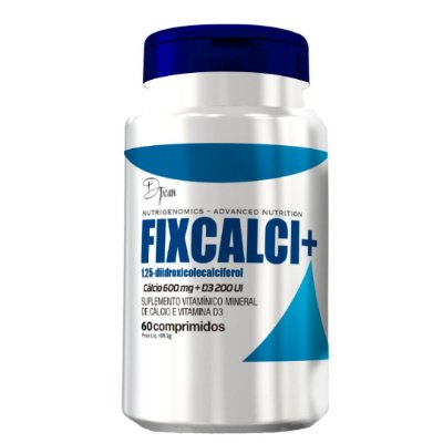 Fixcalci+ - D'poan - 60 Cápsulas - M4ASZ7FPD