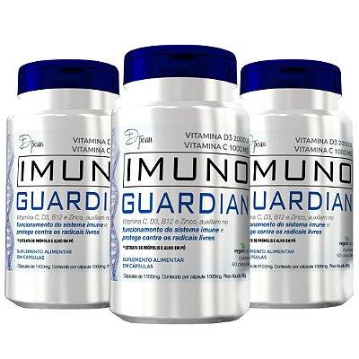 Combo Imuno Guardian 3 Unidades - D'poan - 180 Cápsulas - L8CQWLK24