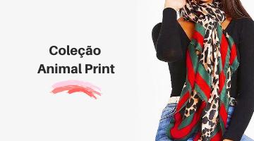 Coleção animal print