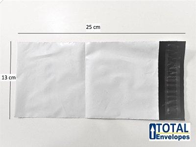 Envelope Plástico de Segurança 13x25 - 100 unidades