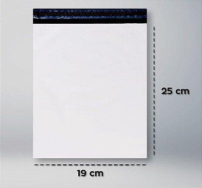Envelope Plástico de Segurança 19x25 - 100 unidades